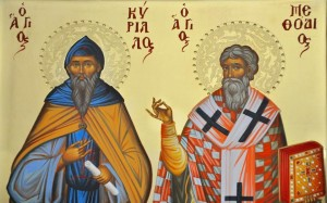 Cyril and Methodius Icon
