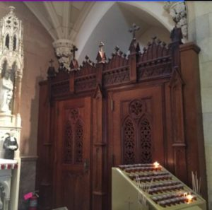 Confessional St. Patrick's Cathedraql NYC